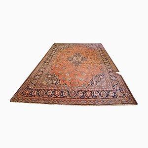 Großer Vintage Teppich aus Baumwolle, 1920er