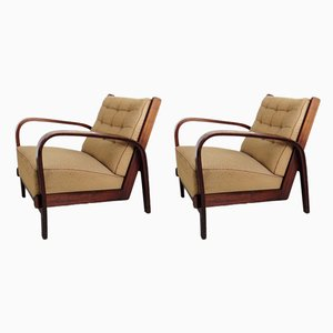 Vintage Armchair, 1940s, Set of 2
