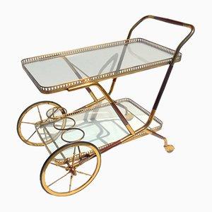 Chariot de Bar Laqué par Cesare Lacca, 1950s