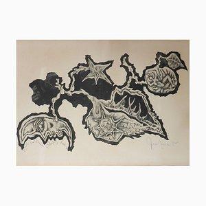 Lithographie par Jean Lurçat, 1960s