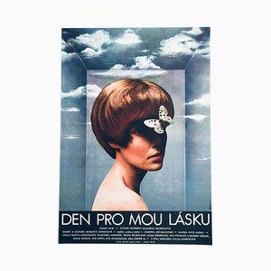 Day for my Love Filmplakat von Olga Poláčková-Vyleťalová, 1970er