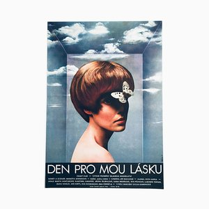 Day for My Love Movie Poster by Olga Poláčková-Vyleťalová, 1970s