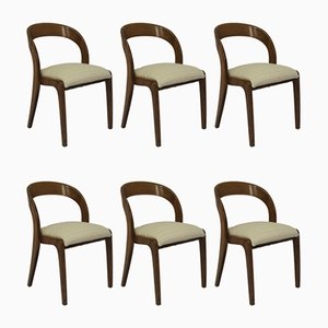 Sled Dining Chairs by Walter Baumann for Baumann, 1970s, Set of 6