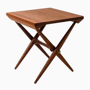 Tavolino vintage in teak di Jens Quistgaard per Dansk Design, anni '60