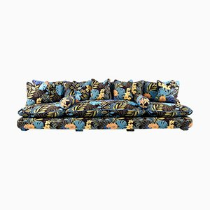 Cha-Cha Home Collection Sofa in Jungle by Night Fabric by JPDemeyer