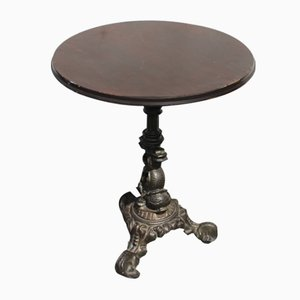 Cast Iron Pub Table, 1920s