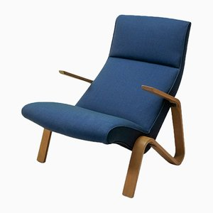 Mid-Century Grasshopper Chair by Eero Saarinen for Wohnbedarf, 1950s