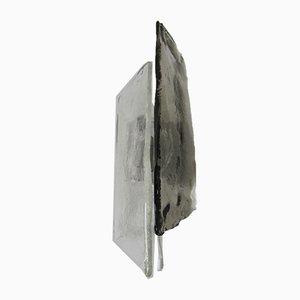 Lampada da parete vintage in vetro smerigliato di Carlo Nason per Kalmar Franken KG