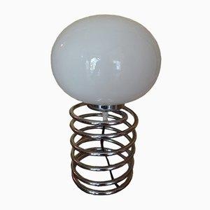 Large Vintage Spring Table Lamp by Ingo Maurer