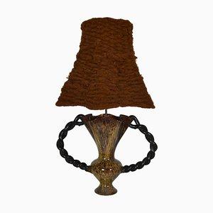 Französische Vallauris Tischlampe, 1950er