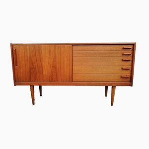 Scandinavian Teak Sideboard by Yngve Ekström for Hugo Troeds, 1950s