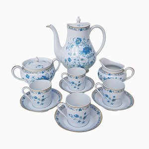 Model Nankin Limoges Porcelain Coffee Set from Haviland, 1960s