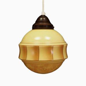 Lámpara de techo danesa, años 70