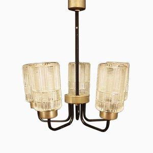 Lámpara de araña danesa, años 70