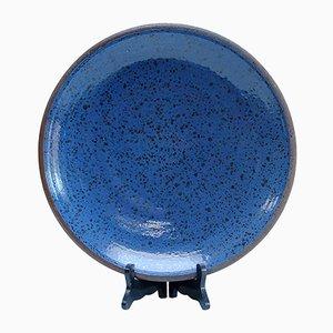 Plato grande de cerámica de Antoine de Vinck, 1956