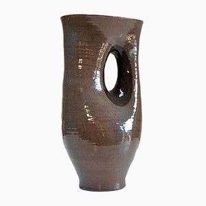 Mid-Century Vase aus Keramik von Antoine de Vinck
