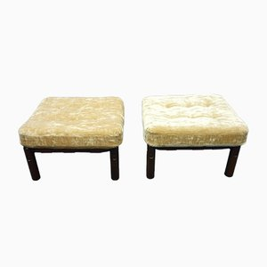 Mid-Century Footstools, 1970s, Set of 2