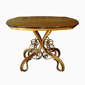 Vintage No. 4 Tisch von Michael Thonet für Thonet