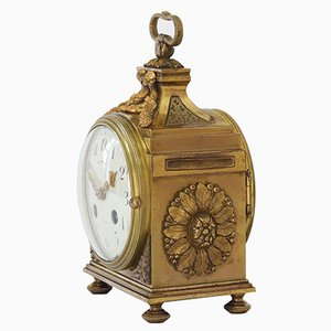 Gilt Officer Clock from Thomas & Co, 1890s