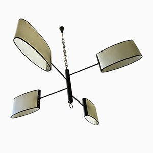 Mid-Century Chandelier from Lunel, 1950s