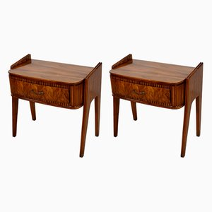 Bedside Tables by Paolo Buffa, 1950s, Set of 2
