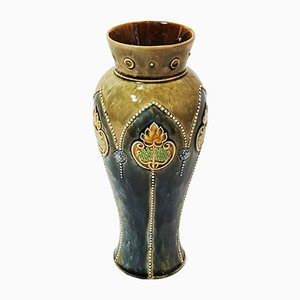 Vase en Grès par Ethel Beard pour Royal Doulton, 1920s
