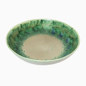 Large Lapis Ware Bowl by Gladys Rodgers for Pilkington's Royal Lancastrian Pottery, 1930s