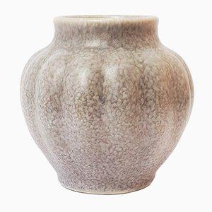 Vase Cannelé de Pilkington's Royal Lancastrian Pottery, 1930s