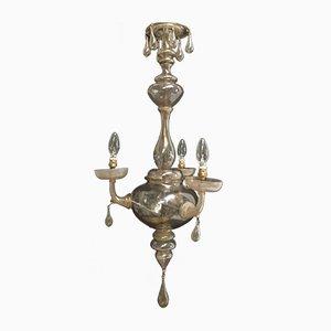 Lámpara de araña Venini de Cappellin, años 20