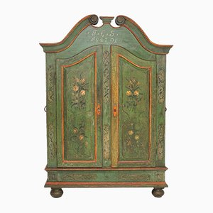 18th-Century Danish Wooden Cabinet