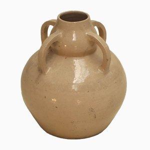 Große Vintage Vase von Augeron Betzy