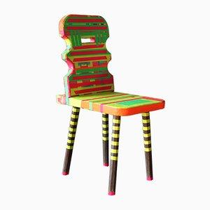 Vintage Beistellstuhl von Markus Friedrich Staab für Atelier Staab