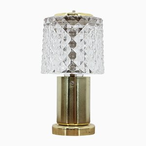 Small Glass Table Lamp from Kamenický Šenov, 1970s