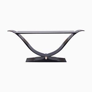 Table Console Laquée Noire de ADM