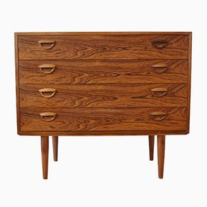 Rosewood Chest of Four Drawers by Kai Kristiansen for Feldballes Møbelfabrik, 1960s