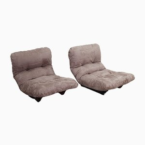 Marsala Lounge Chairs by Michel Ducaroy for Ligne Roset, 1980s, Set of 2