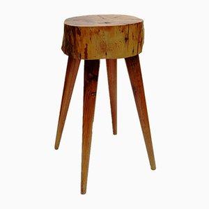 Polish Handmade Side Table, 1960s