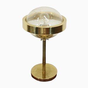 Lámpara de mesa UFO era espacial de Kamenický Šenov, años 70