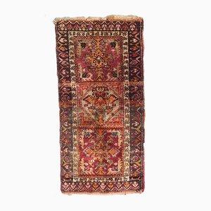 Türkischer Vintage Yastik Teppich, 1930er