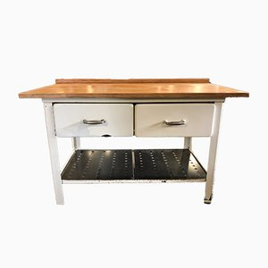 Vintage Kitchen Worktable, 1960s