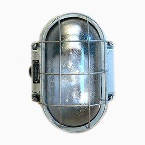 Industrielle Wandlampe aus Aluminiumguss von Elektrosvit, 1970er