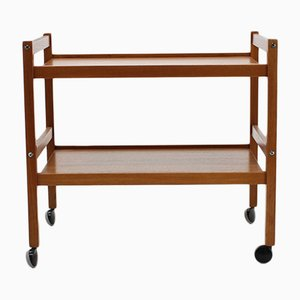 Danish Teak Bar Trolley, 1960s