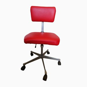 Vintage Belgian Swivel Desk Chair from Barro