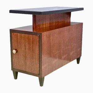 Mid-Century Italian Rosewood, Mahogany & Ebonized Beech Cabinet Divider, 1940s