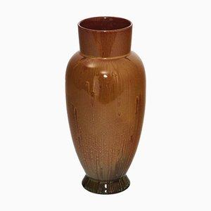 Vase Ovoïde Verni par Christopher Dresser pour Linthorpe Pottery, 1880s