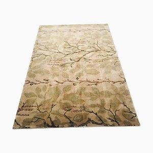 Goldener nepalesischer Teppich, 1980er