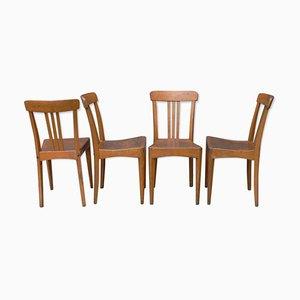 Chaises de Bistrot Vintage de Stella, Set de 4