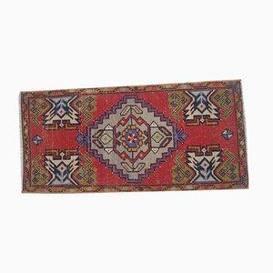 Small Vintage Turkish Oushak Rug, 1970s