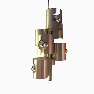 Vintage French Chandelier by Max Sauze, 1970s
