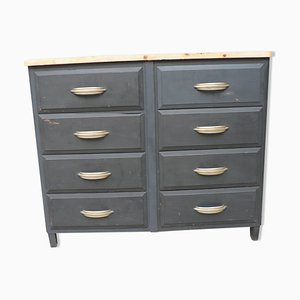 Mid-Century French Fir Dresser, 1950s